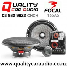 """Focal 165 AS 6.5"""" 120W (60W RMS) 2 Way Component Car Speaker (pair)  with Easy Finance"""