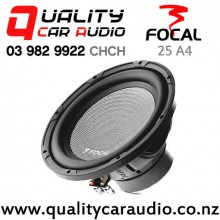 """Focal 25 A4 10"""" 400W (200W RMS) Single Voice Coil Car Subwoofer with Easy Finance"""
