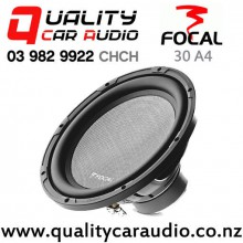 """Focal 30 A4 12"""" 400W (250W RMS) Single Voice Coil Car Subwoofer with Easy Finance"""
