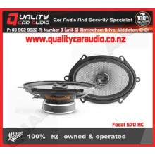 """Focal 570 AC 5X7"""" 120W 2 WAY COAXIAL SPEAKERS - Easy LayBy"""