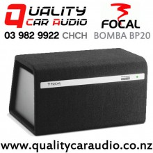 "Focal BOMBA BP20 8"" 300W (150W RMS) Active Vented Enclosure Compact Car Subwoofer with Easy Finance"