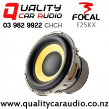 """Focal E25KX 10"""" 600W (300W RMS) Dual 4 ohm Voice Coil Car Subwoofer with Easy Finance"""