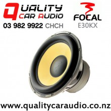 """Focal E30KX 12"""" 800W (400W RMS) Dual 2 ohm Voice Coil Car Subwoofer with Easy Finance"""