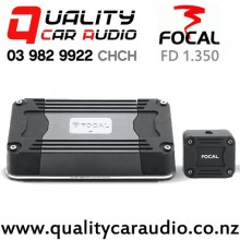Focal FD 1.350 350W Mono Channel Compact Car Amplifier with Easy Finance