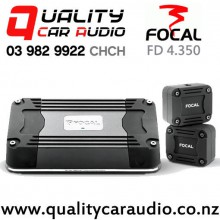Focal FD 4.350 58Wx4 4/3/2 Channel Class D Compact Car Amplifier with Easy Finance