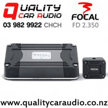 Focal FD 2.350 360W 2 Channel Class D Compact Car Amplifier with Easy Finance