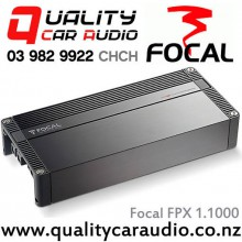 Focal FPX 1.1000 Performance Series 1000W x 1 RMS at 1 ohm Mono Car Amplifier