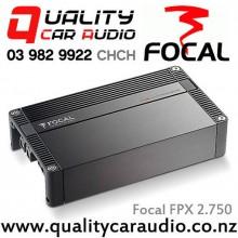 Focal FPX 2.750 2 channel 770W x1 RMS Bridgeable Compact Car Amplifier