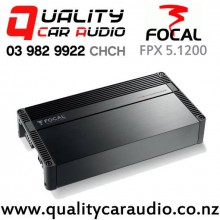 Focal FPX 5.1200 720W RMS 5/4/3 Channel Class D Compact Car Amplifier with Easy Finance
