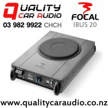 """Focal IBUS 20 8"""" 150W (75W RMS) Powered Underseat Style Subwoofer with Easy Finance"""