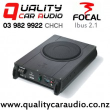 "Focal Ibus 2.1 8"" 150W (75W RMS) Under Seat Active Subwoofer + 110W (55W RMS) 2 channel Car Amplifier with Easy Finance"