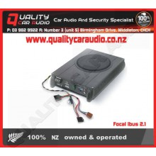 """Focal Ibus 2.1 8"""" 150W Under Seat Active Subwoofer - Easy LayBy"""