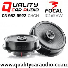"""Focal IC165VW 6.5"""" 120W (60W RMS) 2 Way Volkswagen Factory Speaker Replacement (pair) with Easy Finance"""