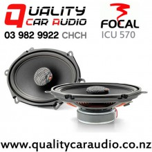 "Focal ICU 570 5x7"" 120W (60W RMS) 2 Way Coaxial Car Speakers (pair) with Easy Finance"