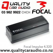 Focal Impulse 4.320 4 Channel Max 160W Brigdgeable Compact Digital Car Amplifier with Easy LayBy