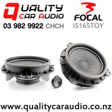 "Focal IS165TOY 6.5""(165mm) 120W (60W RMS) 2 Way Component Speakers for for Toyota (pair) with Easy Finance"