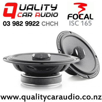 focal isc 165 14 0w 70w rms 2 way coaxial car speakers pair with easy finance. Black Bedroom Furniture Sets. Home Design Ideas