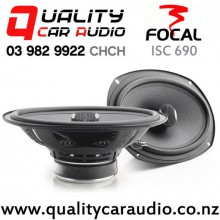 "Focal ISC 690 6x9"" 160W (80W RMS) 2 Ways Coaxial Car Speakers (Pair) with Easy Finance"