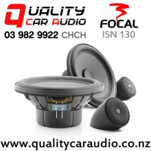 """Focal ISN 130 5.25"""" 100W (50W RMS) 2 Way Component Shallow-mount Car Speakers (pair) with Easy Finance"""