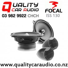 """Focal ISS 130 5.25"""" 120W (60W RMS) 2 Way Component Car Speakers (pair) with Easy Finance"""