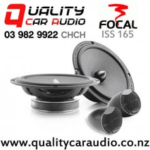 "Focal ISS 165 6.75"" 140W (70W RMS) 2 Way Component Car Speakers (pair) with Easy Finance"