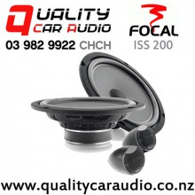 "Focal ISS 200 8"" 160W (80W RMS) 2 Way Component Car Speakers (pair) with Easy Finance"
