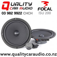 "Focal ISU 200 8"" 160W (80W RMS) 2 Way Component Car Speakers (pair) with Easy Finance"