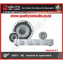 """Focal Kit # 7 6.5"""" 200W component speaker kit - Easy LayBy"""
