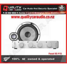 """Focal Kit # 6 6.5"""" 200W component speaker kit - Easy LayBy"""