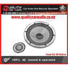 """Focal Kit #6 Active 6.5"""" 200W component speaker kit without Crossblock - Easy LayBy"""
