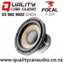 """Focal P 20F 8"""" 500W (250W RMS) Single 4 ohm Voice Coil Car Subwoofer with Easy Finance"""