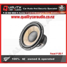"""Focal P 25 F 10"""" 600W FLAX Subwoofer - Easy LayBy"""