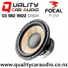 """Focal P 25F 10"""" 600W (300W RMS) Single 4 ohm Voice Coil Car Subwoofer with Easy Finance"""
