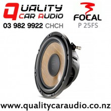 "Focal P 25FS 10"" 600W (300W RMS) Single 4 ohm Voice Coil Slim Car Subwoofer with Easy Finance"
