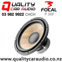 """Focal P 30F 12"""" 800W (400W RMS) Single 4 ohm Voice Coil Car Subwoofer with Easy Finance"""
