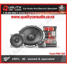"Focal P165 V33 6.5"" 160W 2 Way Component Speakers - Easy LayBy"