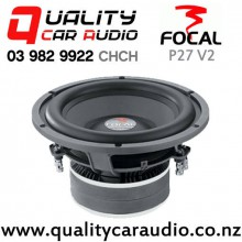 """Focal P27 V2 11"""" 600W (300W RMS) Dual 4 ohm Voice Coil Car Subwoofer with Easy Finance"""