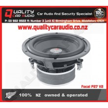 """Focal P27 V2 11"""" 600W 4 ohm DVC subwoofer - Easy LayBy"""