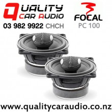 "Focal PC 100 4"" 100W (50W RMS) 2 Ways Coaxial Car Speakers (pair) with Easy Finance"