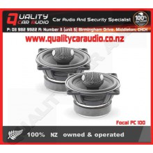 "Focal PC 100 4"" 100W 2 Ways Coaxial Speakers - Easy LayBy"
