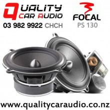 """Focal PS 130 5.25"""" 120W (60W RMS) 2 Way Component Car Speakers (pair) with Easy Finance"""