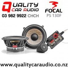 """Focal PS 130F 5.25"""" 120W (60W RMS) 2 Way Component Car Speaker (pair) with Easy Finance"""