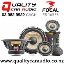 """Focal PS 165F3 6.5"""" 160W (80W RMS) 3 Way Component Car Speaker with Easy Finance"""