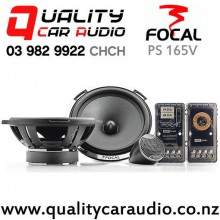 """Focal PS 165V 6.5"""" 160W (80 RMS) 2 Way Car Component Speaker (pair) with Easy Finance"""
