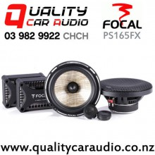 """Focal PS165FX 6.75"""" (17.1cm) 160W 2 Ways Car Component Speakers (Pair) with Easy Finance"""