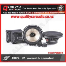 "Focal PS165FX 6.75"" 160W 2 Ways Component Car Speakers (Pair) with Easy Layby"