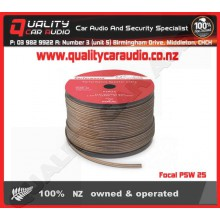 Focal PSW 25 PERFORMANCE Flat Speaker Cable 91M - Easy LayBy