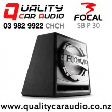 """Focal SB P 30 12"""" 600W (300W) 4 ohm Ported Enclosre Car Subwoofer with Easy Finance"""