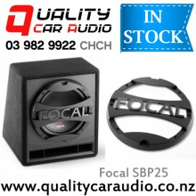 "Focal SB P 25 10"" 500W subwoofer Ported enclosure with Easy LayBy"