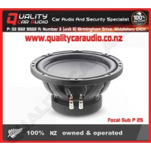 """Focal Sub P 25 10"""" 400W SVC 4 Ohm Subwoofer - Easy LayBy"""